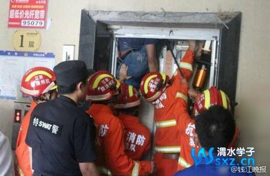 杭州男子被卡电梯致死身份是正修电梯的修理工